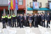 El municipio de Bullas celebra los actos conmemorativos del Día de la Policía Local en reconocimiento a su labor