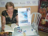 Rosa Cáceres presenta la novela 'Isla Cueva de Lobos' este viernes en la Universidad Popular de Mazarrón