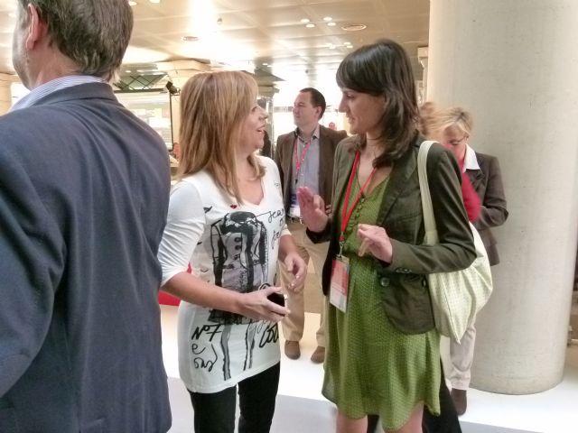 Pedro Saura y María González participan activamente en la Conferencia Política del PSOE en Madrid - 1, Foto 1