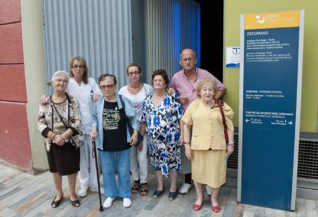 400 mayores visitan gratis los centros de Puerto de Culturas para celebrar su Día - 2, Foto 2