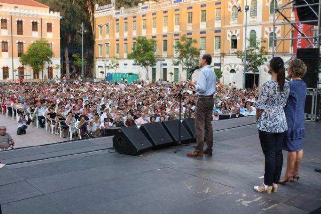 Charo Reina actúa en la Gala del Día de la Edad de Oro ante cerca de 4.000 personas de los 76 centros de mayores - 4, Foto 4