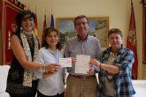 La Asociación de Vecinos de Campo López dona 1.000 euros a la Mesa Solidaria de ayuda a Lorca tras los seísmos