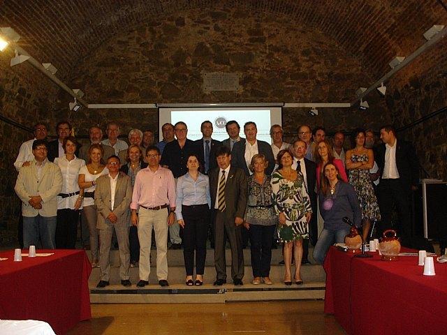 La alcaldesa de Totana se proclama en Argentona (Barcelona) presidenta de la Asociaci�n Española de Ciudades de la Cer�mica, Foto 1