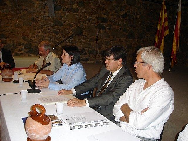 La alcaldesa de Totana se proclama en Argentona (Barcelona) presidenta de la Asociaci�n Española de Ciudades de la Cer�mica, Foto 5