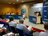 González Veracruz: 'Los socialistas apostamos por blindar la sanidad pública frente a quienes apuestan por las privatizaciones y el copago'