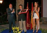 El Alcalde de Lorca abrió anoche las Fiestas de Puerto Lumbreras con la lectura del pregón