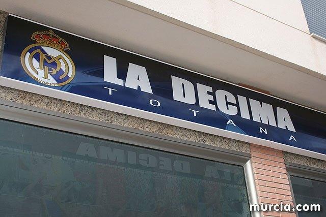 La peña Madridista La D�cima de Totana organiza un viaje para ver el partido Real Madrid - Real Betis, Foto 1