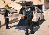 La Guardia Civil detiene in fraganti a cuatro personas mientras cometían un robo en Fortuna