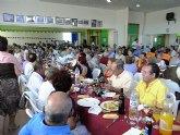 """Más de 300 mayores celebran el """"Día Internacional de las Personas de Edad"""" en Lo Pagán"""