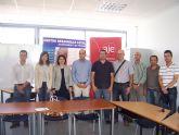 El ayuntamiento y Aje Guadalent�n pondr�n en marcha un plan local para promover nuevas actividades dirigidas a empresarios y nuevos emprendedores