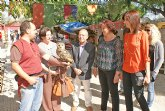 Inaugurado el Mercado Medieval y la Feria de Artesanía Local que se celebra con motivo de las Fiestas Patronales 2011