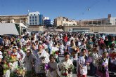 Puerto Lumbreras acoge la tradicional Ofrenda Floral a la Virgen del Rosario' 2011