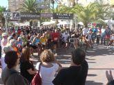 Juan Emilio Miras y Mercedes Merino, ganadores absolutos de la I Carrera Popular 'Bahía de Mazarrón'