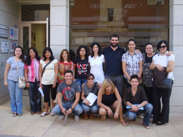 Course Students Care Unit visits the facilities of the Municipal Day Centres for the Elderly