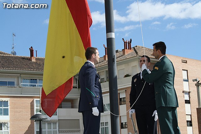 The act of homage to the Spanish flag will be held tomorrow Wednesday 12 October at the Plaza of the Constitution
