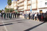 Puerto Lumbreras se suma al acto homenaje de la bandera de España con motivo del Día de la Hispanidad 2011