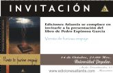 """Llega a Mazarr�n """"Viento de Furioso Empuje"""", una novela del escritor mazarronero Pedro Espinosa Garc�a"""