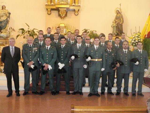 Mazarrón y la Guardia Civil celebraron ayer el día de la Hispanidad, Foto 2