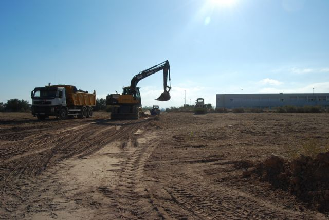 """Begin work on the new access road CEIP """"Luis Perez Rueda"""""""