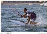 El estadounidense Lake y la francesa Adrien lideran el I Mundial de Kite Cross a falta de una jornada