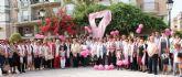 Más de 100 mujeres lumbrerenses participan en la IV Marcha Popular con motivo del Día Internacional Contra el Cáncer de Mama