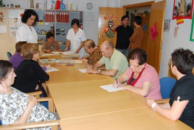 Esta semana se celebra el IV aniversario del Centro de D�a para Personas Dependientes con Alzheimer de Totana, Foto 1
