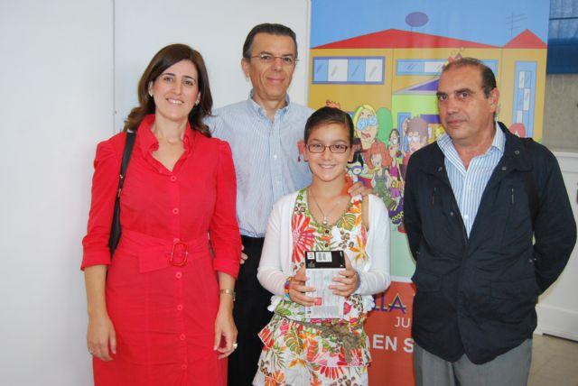 Una niña alhameña, Marina Ruiz, entre los diez primeros del concurso