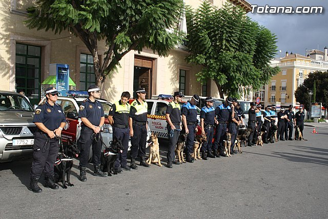 I find Interpolicial Guide Dogs of the Region of Murcia