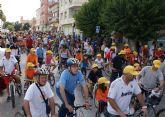 ´En Forma Pedaleando´ 2011 congregó a un millar de lumbrerenses en su tradicional recorrido urbano en bicicleta