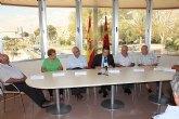 Firma de convenios con las asociaciones de mayores del municipio