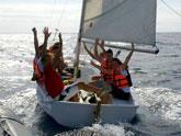 J�venes murcianos desarrollan un programa de Actividades Deportivas N�uticas en �guilas