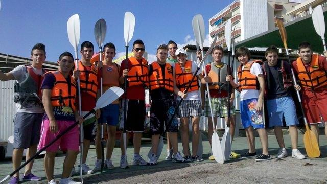 J�venes murcianos desarrollan un programa de Actividades Deportivas N�uticas en �guilas, Foto 1