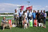 El Concurso Nacional Canino 'Ciudad de Puerto Lumbreras' congregó a 300 ejemplares de más de 50 razas caninas