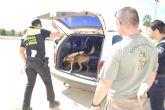 El Encuentro de Unidades Caninas de la Policía Local centra sus sesiones formativas en la detección de estupefacientes y explosivos