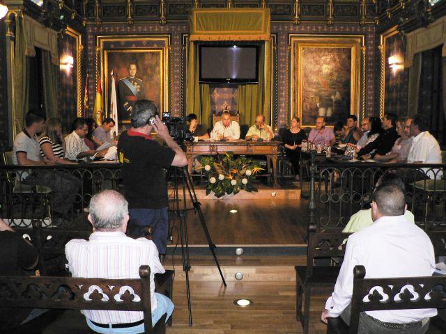 El pleno aprueba por unanimidad iniciar la concesión administrativa de un aparcamiento público, Foto 1