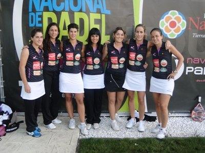Cristina Talavera se alza con el tercer puesto en el Master Nacional P�del Tour Land Rover en San Sebasti�n, Foto 2