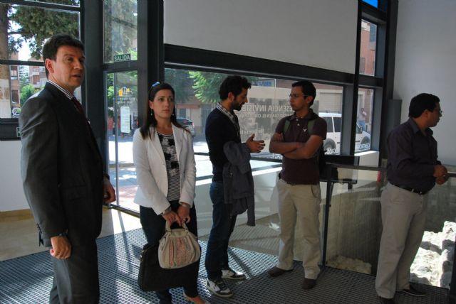 El alcalde y la concejala de Turismo reciben en el Museo Arqueológico a una delegación de alcaldes ecuatorianos y a la edil de Desarrollo de Murcia, Foto 2