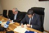 Firma de convenio entre el Ayuntamiento de Torre-Pacheco y la UCAM