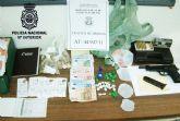 La Policía Nacional desmantela un punto de venta de droga situado en una cafetería de Molina de Segura