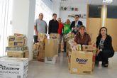 Protecci�n Civil reparte alimentos de primera necesidad a familias en situaci�n de necesidad