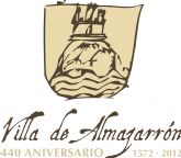El logotipo del 440 aniversario de la indepencia de la Villa de Almazarr�n anuncia un programa repleto de actos culturales y deportivos