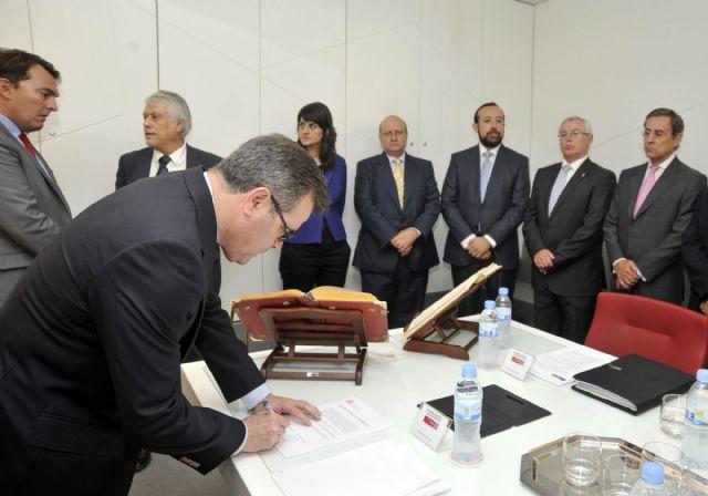 Toman posesión cinco vocales del Consejo Social de la Universidad de Murcia - 1, Foto 1