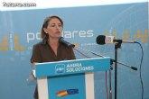 El Partido Popular de Totana lamenta 'el uso partidista que realiza Gonzalez Tovar de su cargo institucional'