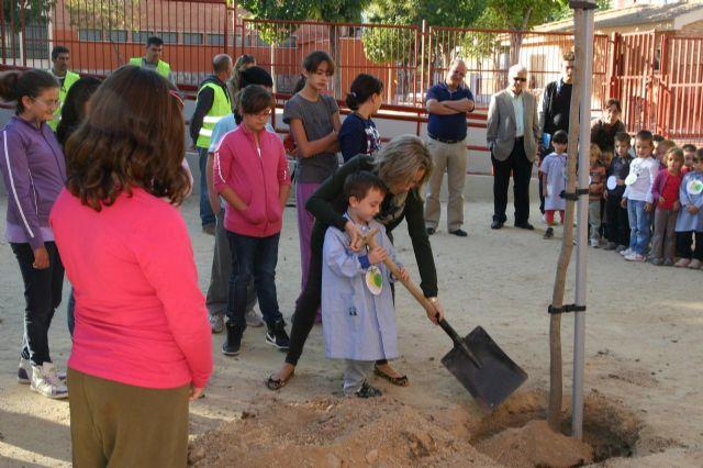 El colegio Virgen de la Fuensanta de La Alberca se une a las Escuelas Verdes del municipio - 2, Foto 2