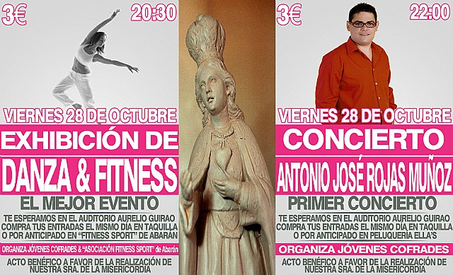 Cieza acogerá una exhibición y un concierto benéfico a favor de la realización de Nuestra Señora de la Divina Misericordia - 1, Foto 1