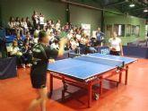 El colegio Mediterráneo conoce el Tenis de Mesa profesional a través del programa ADE