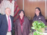 María Dolores Alarcón inaugura una muestra de Artesanía en Cieza