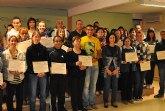 Clausurado el Programa de Primeros Auxilios incluido en el Área de Formación para jóvenes que impulsa el Ayuntamiento de Puerto Lumbreras