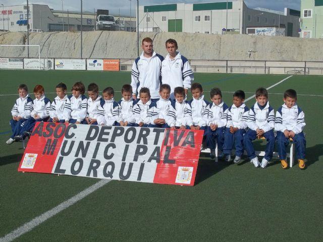 Se presentan las Escuelas Municipales de Fútbol de Lorquí con casi 200 jugadores - 1, Foto 1