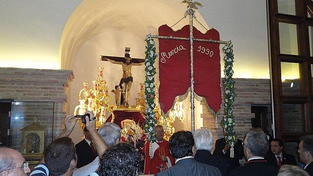 La Hermandad del Rocio de Murcia celebra la misa en honor al Cristo de la Sangre en el 600 aniversario en su año Jubilar - 1, Foto 1